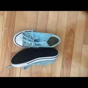 Size 2 converse sneakers
